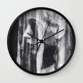The Silence In The Grandness Of Things Wall Clock