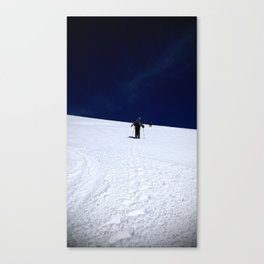(#87) Hiking On The Moon Canvas Print