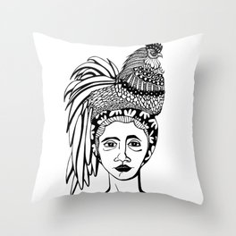 Nátura III Throw Pillow
