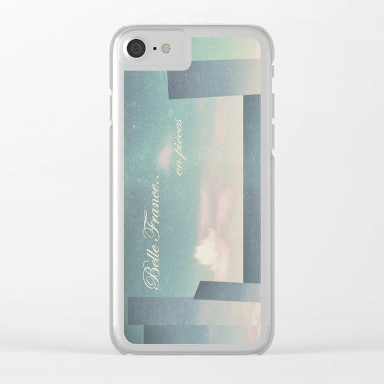 Belle France, en pièces Clear iPhone Case