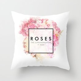 The Chainsmokers - Roses Throw Pillow