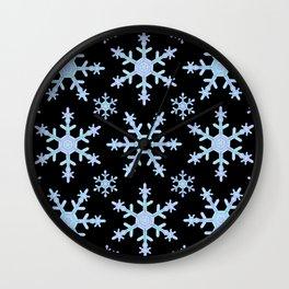 Let it Snow Mix 2 Midnight Version Wall Clock