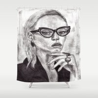 daria Shower Curtains featuring Daria by Yuval Ozery
