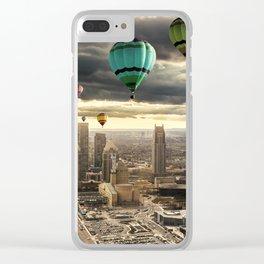 Flying High - Digital Art Clear iPhone Case