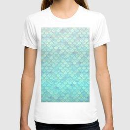 Teal Mermaid Scales T-shirt
