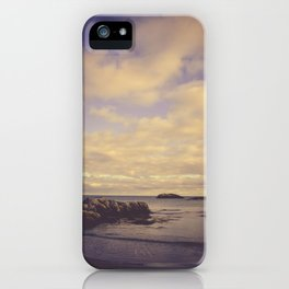 Her Dreams Stretched as Far as the Sea Was Wide iPhone Case