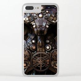 The Clock Maker Clear iPhone Case