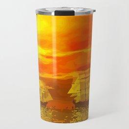 Segelschiffe im Sonnenschein Travel Mug