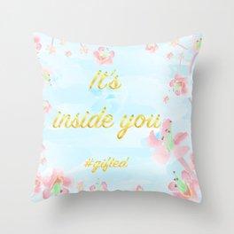 Fora Throw Pillow