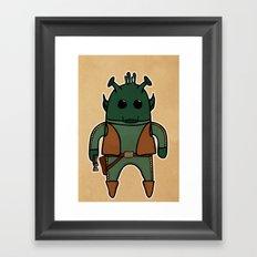 Greedo Framed Art Print