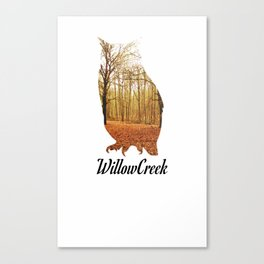WillowCreek Owl Canvas Print