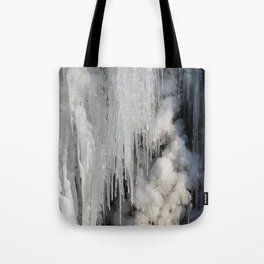 icicles Tote Bag