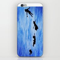 neverland iPhone & iPod Skins featuring Neverland by Sierra Christy Art