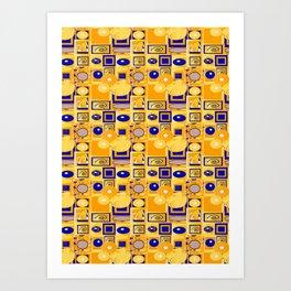 Klimt5 Art Print