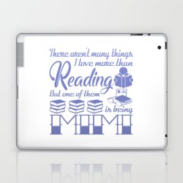Reading Mimi Laptop & iPad Skin