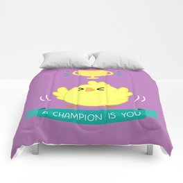Chicken - A Champion Is You Comforters