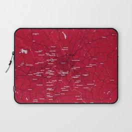 FanMap   NCAA UGA #01 Laptop Sleeve