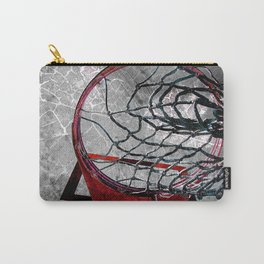 Basketball art swoosh vs 3 Carry-All Pouch