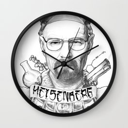 Breaking Bad's Heisenberg - You're goddamn right! Wall Clock