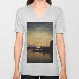 Swinoujscie In The Moonlight - Digital Remastered Edition Unisex V-Neck