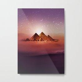 Station Pyramid Metal Print