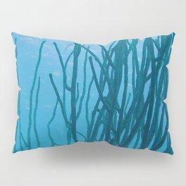 Watercolor Sealife, Sea Rod 01, Bonaire, Dutch West Indies Pillow Sham