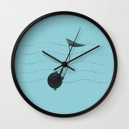 A Note of Fun Wall Clock