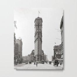 Times Square, 1908. Vintage Photo Metal Print