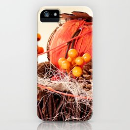 Autumn is coming iPhone Case