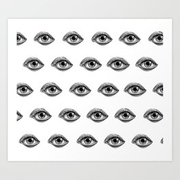 Minds Eye Art Print