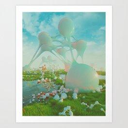 MILKGOO (everyday 010.04.16) Art Print
