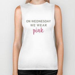 We Wear Pink Biker Tank