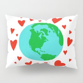 Love the Earth, Save the Earth Pillow Sham