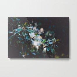 Floral V Metal Print