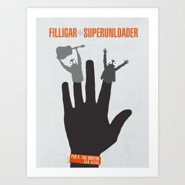 Filligar - Griffin San Diego Art Print
