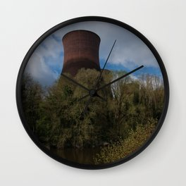 Ironbridge Cooling Towers Wall Clock