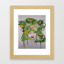In the Citrus Family Framed Art Print