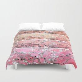 Vincent Van Gogh Almond Blossoms Panel Pink Peach Duvet Cover