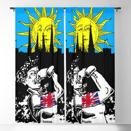 """""""I Wish You Lonely"""" Blackout Curtain"""