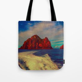 New Zealand, Bay of Islands - Hole in the Rock Tote Bag