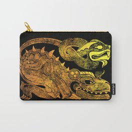 Golden two-headed dragon Carry-All Pouch
