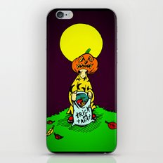 Tricky  |  Trick Or Treat  |  Halloween iPhone & iPod Skin