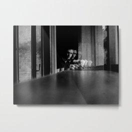 Shadow photographer 3 Metal Print