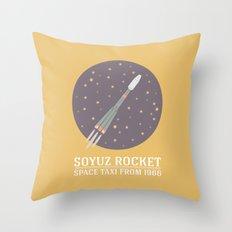 Soyuz Throw Pillow
