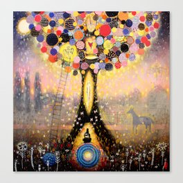 Swefn Treow ( The Dreaming Tree ) Canvas Print