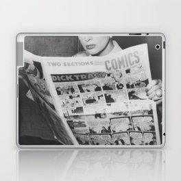 Joan's Comics Laptop & iPad Skin