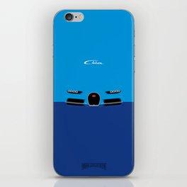 Minimal Chiron iPhone Skin