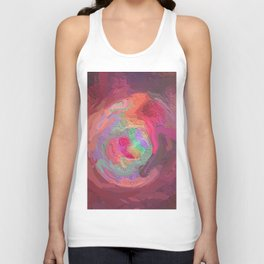 Abstract Mandala 127 Unisex Tank Top