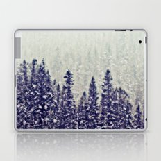 The Snowy Winter Forest  Laptop & iPad Skin