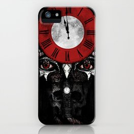 """""""The Masque of the Red Death"""" - Edgar Allan Poe Series iPhone Case"""